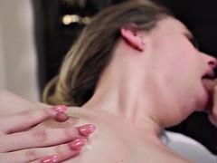jillian janson sucking masseuse's chunky cock