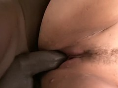 tall breasted sandra gets say no to euro pussy dug unconnected with a big black bushwa