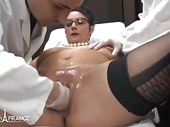 Amateur BBW french milf fisted analyzed n facialized in 3way