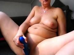 BBW curvy big boob milf plays on high webcam