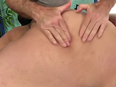 rotundity lorelai givemore gets sensual massage