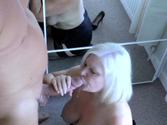 AgedLovE Businessman Came to Fuck Bosomy Mature