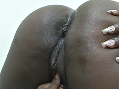 ebony sluts be in love with to use toys