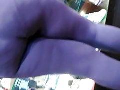 Love leggings BBW.. Obese Massive Ass 6, VPL