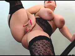 Nice Body BBW Latina with Huge Confidential Squirting mainly Webcam