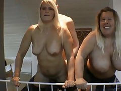 Horny MILF and Naughty Super BBW Parceling out A handful of Youngsters