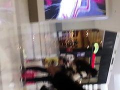 Latina SSBBW Pear booty jiggly VPL