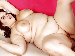 Luscious BBW Plump Bella Gets Eaten out with an increment of Drilled
