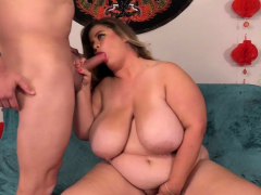 Fat Cougar Hayley Jane Takes a Pound Horseshit