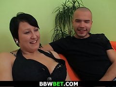 Brown bbw picked close by and fucked