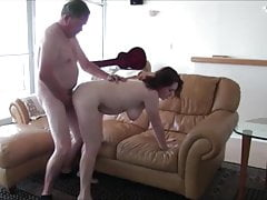 Mediocre big derriere brunette fucked by cur�