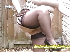 free xxx Flashing My Black Stockings added to Bristols at Pervert Neighbour