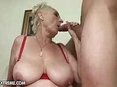 This young stud gives granny the big cock fuck session she atop one's own initiative Santa for, this beggar really puts a long atop this old skank...