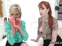 Unfaithful uk matured lady sonia shows her huge p