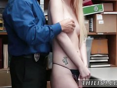 18 fair-haired fuck bungler added to old fat granny anal Two