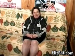 Obese Old Skirt With A Hairy Pussy Has Fun