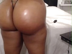 HD Fat irritant ebony on webcam - AdultWebShows.com