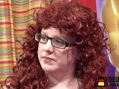 Redhead BBW Fat Girl