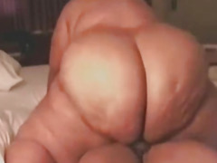 Ebony SSBBW hoe made my dream tally true by riding my BBC