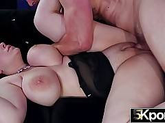 Big Tit Anna Blaze Creampied After Virile TitFuck