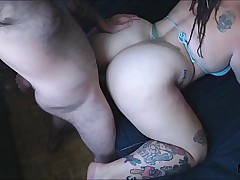 Pawg Sucks, Rides and takes a CREAMPIE!