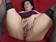 BBW Milf Love BBC In Pussy And Bore
