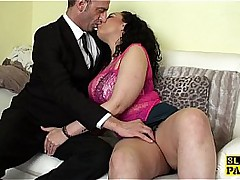 chubby big tit little one gets fingered until orgasm