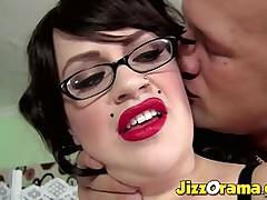 JizzOrama - Tattooed BBW Babe in all directions Big Boobs Banged Hard