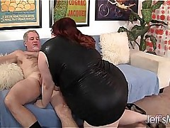 Jeff's fucks BBW Eliza Allure