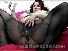 candees misbehaving nylon squirt show preview