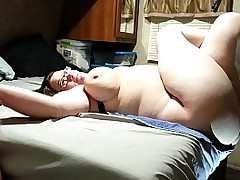 Milf with obese swinging tits gets fucked