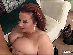 Big boobed mature BBW Lady Lynn hardcore copulation