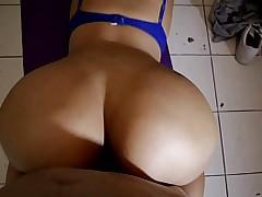 Teen Yoga fuck on carpet