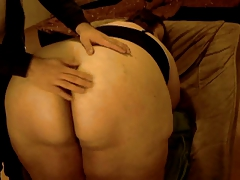 a lil spanking