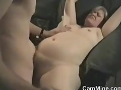 Curvy MILF Sucking Cock