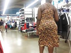 African big booty jiggle in sundress