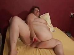 Granny, delightful round belly