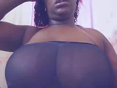Webcam - Ebony Boobs 2