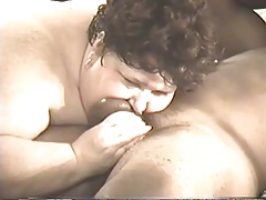 BBW Head #434 Ugly Mature Slob SSBBW Deepthroat a Black Guy