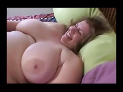 Two big ladies strapon sex