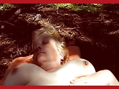 Mature cheating slutwife showing off for the guys