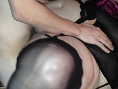 BBW a New atrophied young stud at his place 1.