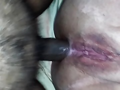 SSBBW loves my fat cock in her ass