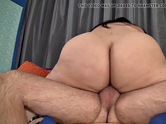 Big ass bounces in excess of fat cock in the lead cum in excess of orientation