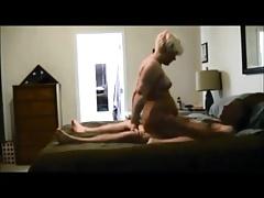 Blonde wife above hiddencam