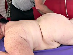 giant tittied fat ass lady lynn gets a sex kneading
