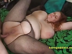 A redhead strumpet built for anal mating