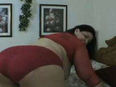 Girl Having A Fat Model